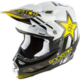 Fly Racing F2 Carbon Rockstar MIPS Helmet Black/White