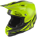 Fly Racing F2 Carbon Shield MIPS Helmet Hi-Vis Yellow/Black