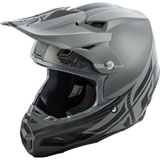Fly Racing F2 Carbon Shield MIPS Helmet Matte Black/Grey