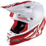 Fly Racing F2 Carbon Shield MIPS Helmet White/Red