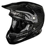 Fly Racing Formula Carbon Helmet Matte Black
