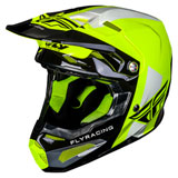 Fly Racing Youth Formula Carbon Origin Helmet Black/Hi-Vis
