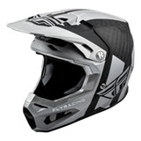 Fly Racing Formula Carbon Origin Helmet Matte Black/Silver