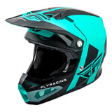 Fly Racing Formula Carbon Origin Helmet Matte Black/Teal