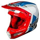 Fly Racing Youth Formula Carbon Origin Helmet Red/White/Blue