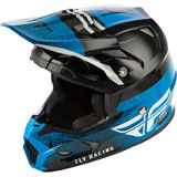 Fly Racing Youth Toxin Embargo MIPS Helmet Blue/Black