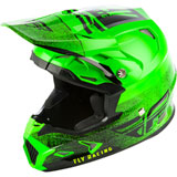 Fly Racing Toxin Embargo w/MIPS Helmet Neon Green/Black
