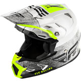 Fly Racing Youth Toxin Embargo MIPS Helmet White/Black