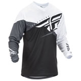 Fly Racing F-16 Jersey 2019 Black/White/Grey