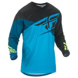 Fly Racing F-16 Jersey 2019 Blue/Black/Hi-Vis