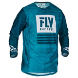 Fly Racing Kinetic Mesh Noiz Jersey Blue/Navy
