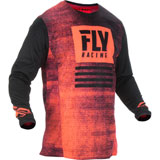 Fly Racing Kinetic Noiz Jersey Neon Red/Black