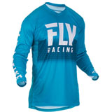 Fly Racing Lite Hydrogen Jersey 2019 Blue/White