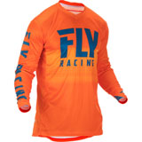 Fly Racing Lite Hydrogen Jersey 2019 Orange/Navy