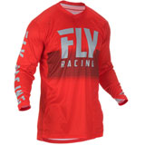 Fly Racing Lite Hydrogen Jersey 2019 Red/Grey