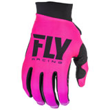 Fly Racing Women's Pro Lite Gloves 2019 Neon Pink/Black
