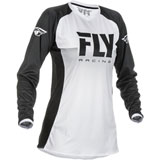 Fly Racing Women's Lite Jersey 2019 White/Black