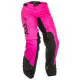 Fly Racing Women's OTB Pants Pink/Black