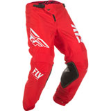Fly Racing Kinetic Shield Pants Red/White