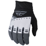 Fly Racing Youth F-16 Gloves 2019 Black/White/Grey