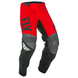 Fly Racing Youth F-16 Pants 2019 Red/Black/Grey