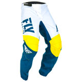 Fly Racing Youth F-16 Pants 2019 Yellow/White/Navy