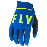 Fly Racing Lite Gloves 20 Blue/Black/Hi-Vis