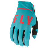 Fly Racing Lite SE Gloves 20 Blue/Coral