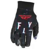 Fly Racing Pro Lite Glitch Gloves Black/Red/Blue