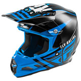 Fly Racing F2 Carbon Granite MIPS Helmet Blue/Black/White