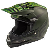 Fly Racing F2 Carbon Granite MIPS Helmet Dark Green/Black