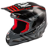 Fly Racing F2 Carbon Granite MIPS Helmet Red/Black/White