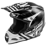 Fly Racing F2 Carbon Granite MIPS Helmet White/Black/Grey