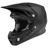 Fly Racing Formula Carbon Solid Helmet Matte Black