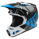 Fly Racing Formula Carbon Vector Helmet Blue/White/Black