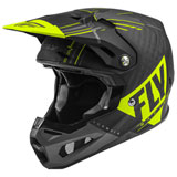 Fly Racing Formula Carbon Vector Helmet Matte Hi-Vis/Grey/Black