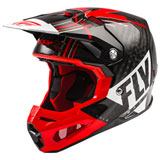 Fly Racing Formula Carbon Vector Helmet Red/White/Black