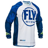 Fly Racing Evolution DST Jersey Blue/White
