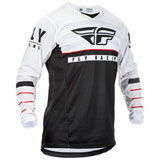 Fly Racing Kinetic K120 Jersey Black/White/Red
