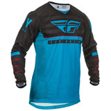 Fly Racing Kinetic K120 Jersey Blue/Black/Red