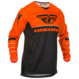 Fly Racing Kinetic K120 Jersey Orange/Black/White