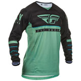 Fly Racing Kinetic K120 Jersey Sage Green/Black