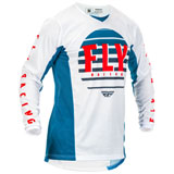 Fly Racing Kinetic K220 Jersey Blue/White/Red