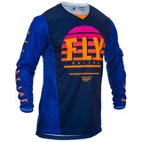 Fly Racing Kinetic K220 Jersey Midnight/Blue/Orange