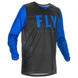 Fly Racing Kinetic Mesh 20.5 Jersey Black/Blue