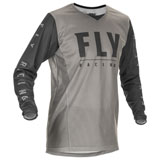Fly Racing Kinetic Mesh 20.5 Jersey Light Grey/Dark Grey
