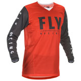 Fly Racing Kinetic Mesh 20.5 Jersey Red/Black