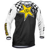 Fly Racing Kinetic Rockstar Jersey Black/White