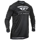 Fly Racing Lite Hydrogen Jersey Black/White
