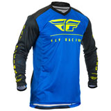 Fly Racing Lite Hydrogen Jersey Blue/Black/Hi-Vis